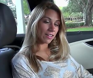 HOT BLONDE GETS PAIDED FOR SEX