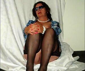 granny Pelzmausi offers her shaved pussy -  slideshow pt. 1