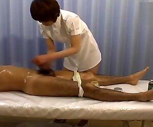 Giapponese Massaggio Spy Cam4