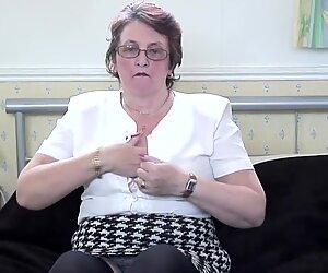 Classy British granny needs a good fuck