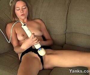 Sexy Star Playing With Toys