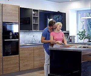 Newlyweds Lovita Fate & Pal Shag in the KitchenReport this video