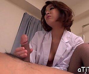 Hot banging for beautifu tits Asian