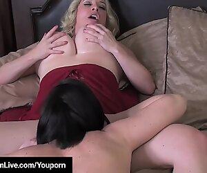 Curvy Lesbian Maggie Green Gets Pussy Eaten By Rachel Storms