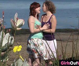 Ragazze out west - pelosa aussie lesbians fuck all'aperto