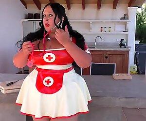 Schokomaus - Strict Busty Nurse