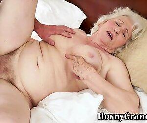 Cunt fingered old grandma