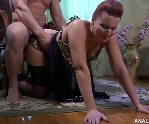 Russian MatureFucked in doggy style
