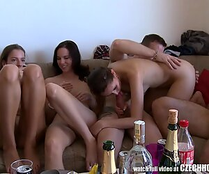 Party Home Video Cought Swinging Friends