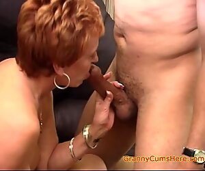 Interracial Gangbang with a Horny Granny Part 5