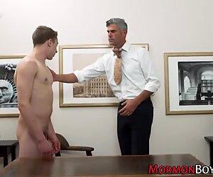 Horny mormon gets plowed