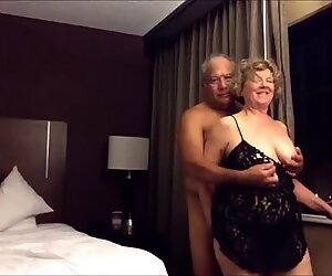 slutpicker.com Old big ass wife fucked from behind in the hotel room