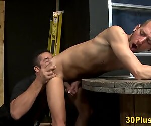 Workman bear cum sprays