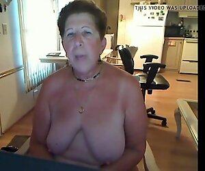 Unduplicate1 Granny creates video for ass master