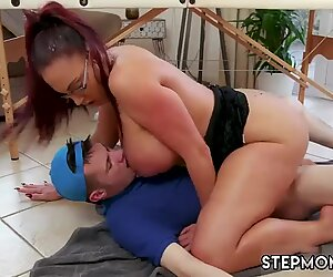 Milf hairy pussy masturbation hd Big Tit Step-Mom Gets a Massage