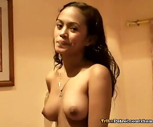 A cock-struck Thai babe with nice tits