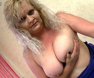 Old but still hot granny needs a good fuck