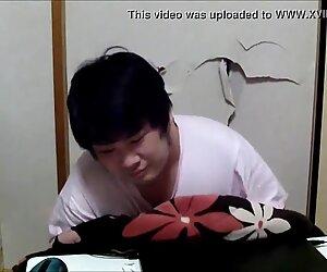 Japanese gay posing