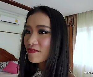 Super horny 19 year old petite thai girl