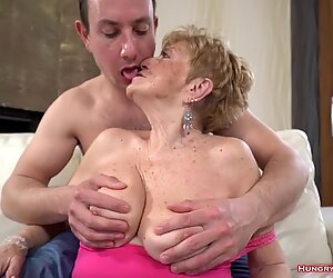 This guy gets turned on by real old horny grandmas