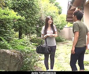 Japanese with big tits, insane outdoor amateur sex - More at 69avs com
