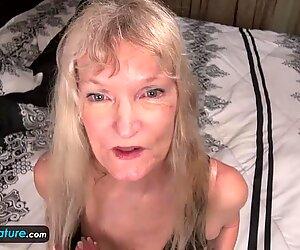 Europemature vecchia nonna cindy andato troppo arrapato