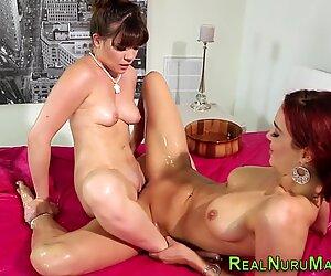 Lesbica massaggiatrice strusciarselo