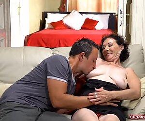 Granny enjoying hardcore banging with a big cock