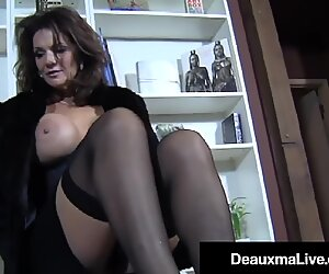 Hosed buxomy milf Deauxma sole Fucks A Young Hard Stud!