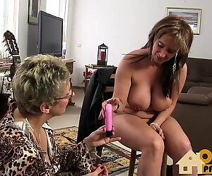 Old Lesbos with toys