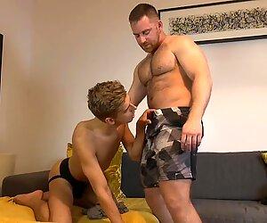 Jonas Jackson pushes his cock deep into Dylan Finn