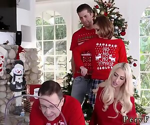 Mother companion s daughter gagging and daddy molest anal Heathenous Family Holiday Card