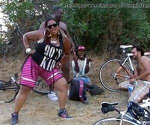 Dopo il giro in bicicletta