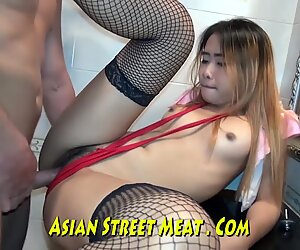 neat Proportionate Chunky asian fucker