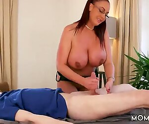 Chubby milf webcam first time Big Tit Step-Mom Gets a Massage - Ashley Emma